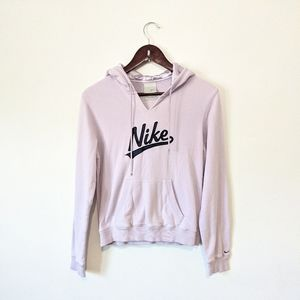Nike 90's VINTAGE Satin Pull Over Spellout Hoodie